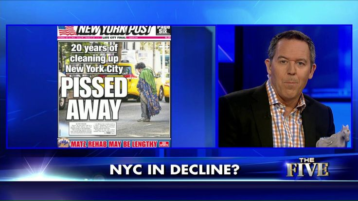 Gutfeld: De Blasio, Liberal Policies Turning NYC into an Outhouse