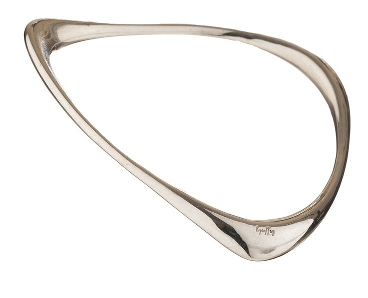 Poplishe Sterling Silver bracelet // Fluidity Collection #huffyjewels www.huffyjewels.com