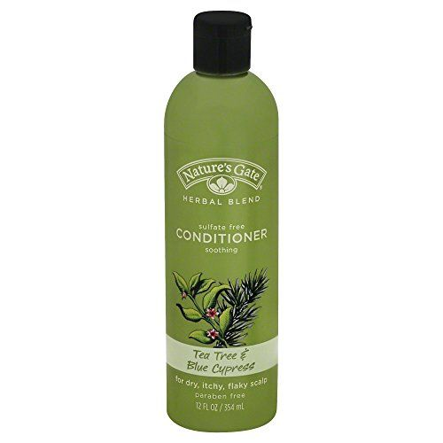 Natures Gate Soothing Shampoo for Dry Itchy Flaky Scalp  Tea Tree  Blue Cypress  12 oz *** Click image for more details.