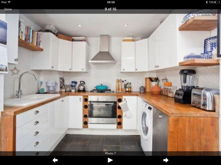 I like the extended wooden worktop down the side, not sure how feasible