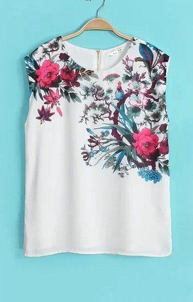 Beach Club Floral T-Shirt – Trendy Road