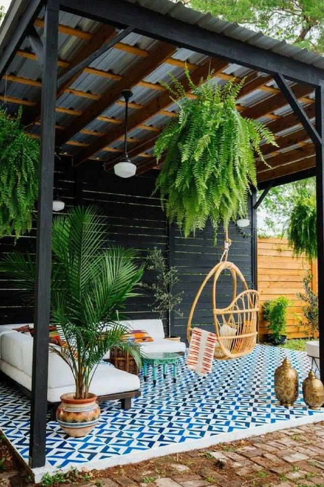 Techo De Terraza Decoracion In 2019 House Roof Veranda