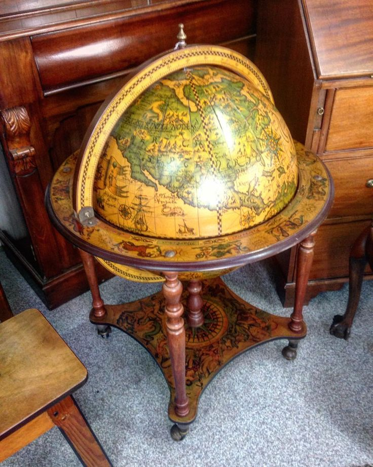 drinks cabinet globe