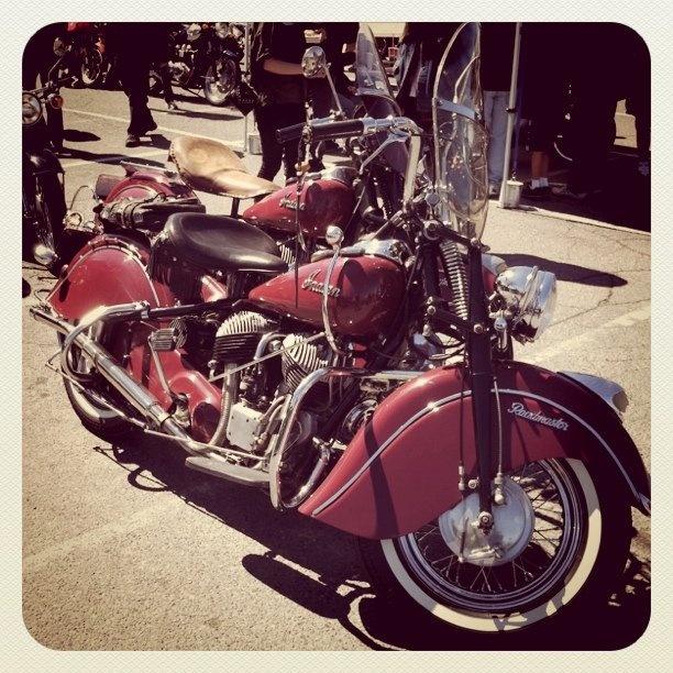 Vintage Indian Motorcycle - So Cool!
