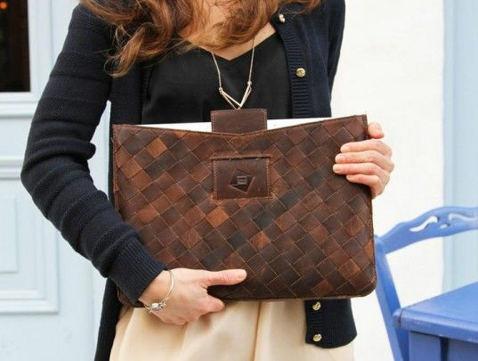 TRMTAB Upcycled Leather Accessories