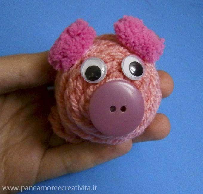 tutorial pig spool knitted