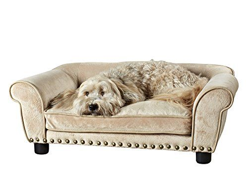 Enchanted Home Pet Dreamcatcher Dog Bed, 33.5 by 21 by 12.5-Inch, Caramel | Dog Supplies - Warning: Save up to 87% on Dog Supplies and Dog Accessories at Our Online Pet Supply Shop