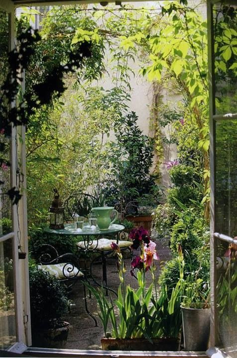 DOORS lead to & protect this secret garden.