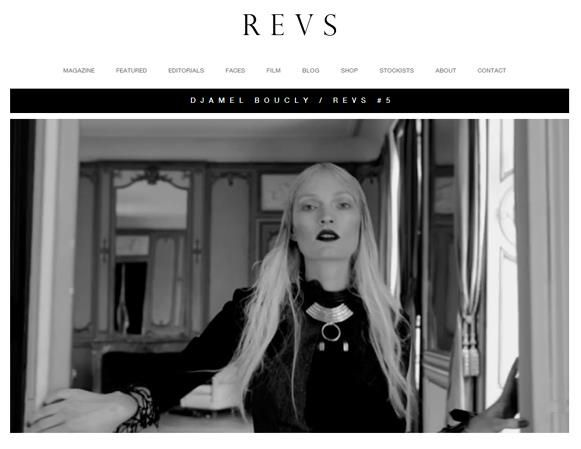 REVS Mag - DJAMEL BOUCLY / REVS #5