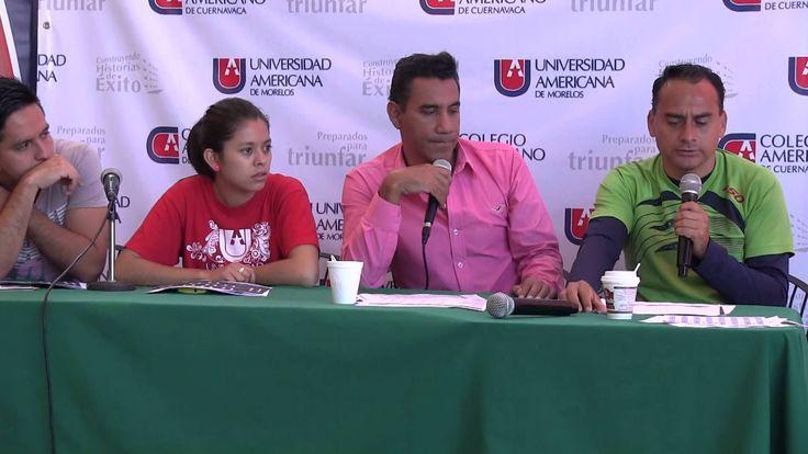 Publicado el 12/09/2013  Primera emisión del programa deportivo de la #ComunidadUAM a cargo de la Coordinación de Actividades Extraescolares.