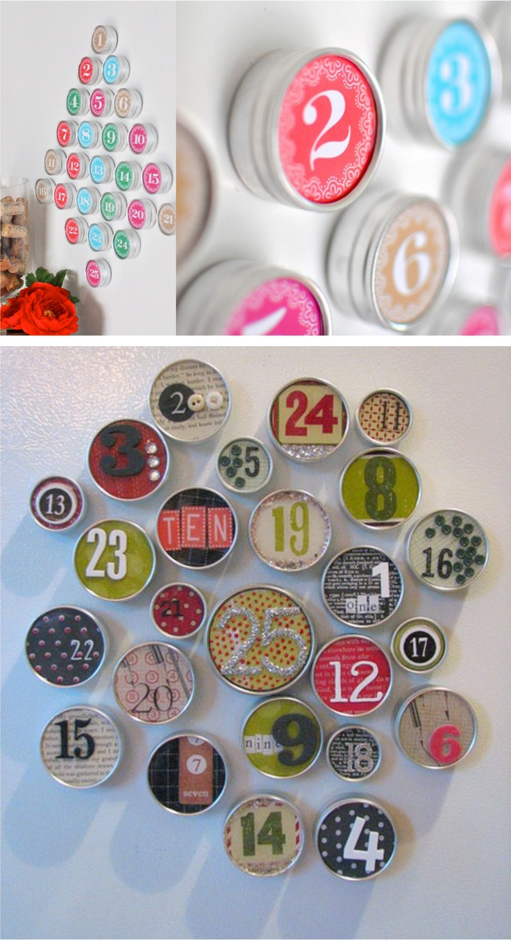 Do It Yourself : le Calendrier de l'Avent | MyHomeDesign