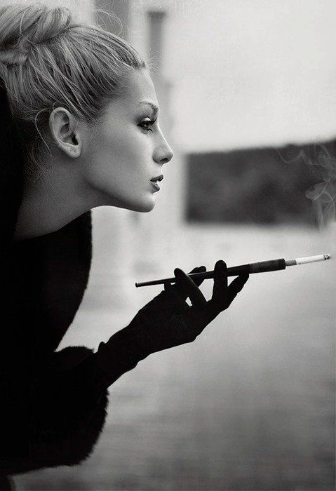 Mulheres que fumam,incrivel.