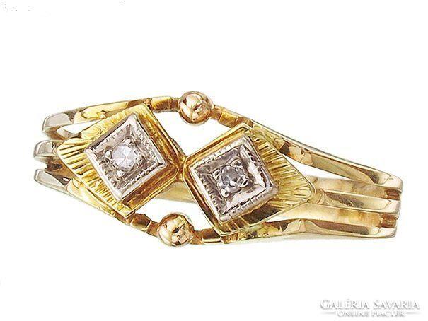 """Gyuru """" gyémánt arany """" Antik"""