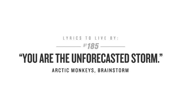 Arctic Monkeys - Brainstorm Lyrics | MetroLyrics