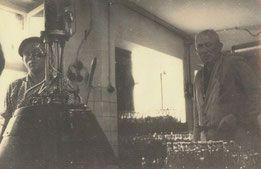 Walter Höhne mit Willy Brachmüller