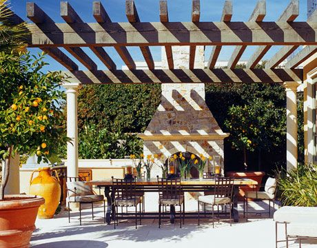 Best pergola in french landscaping This is what a traditional pergola looks like an outdoor