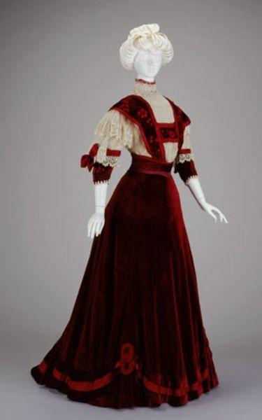 Afternoon Dress  1906-1907  The Cincinnati Art Museum