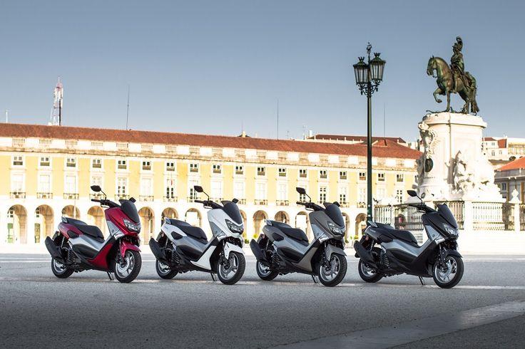 PCX'e yeni rakip Yamaha NMAX! Detaylar için: http://www.yakittuketimi.net/pcxe-rakip-geldi-yeni-yamaha-nmax/