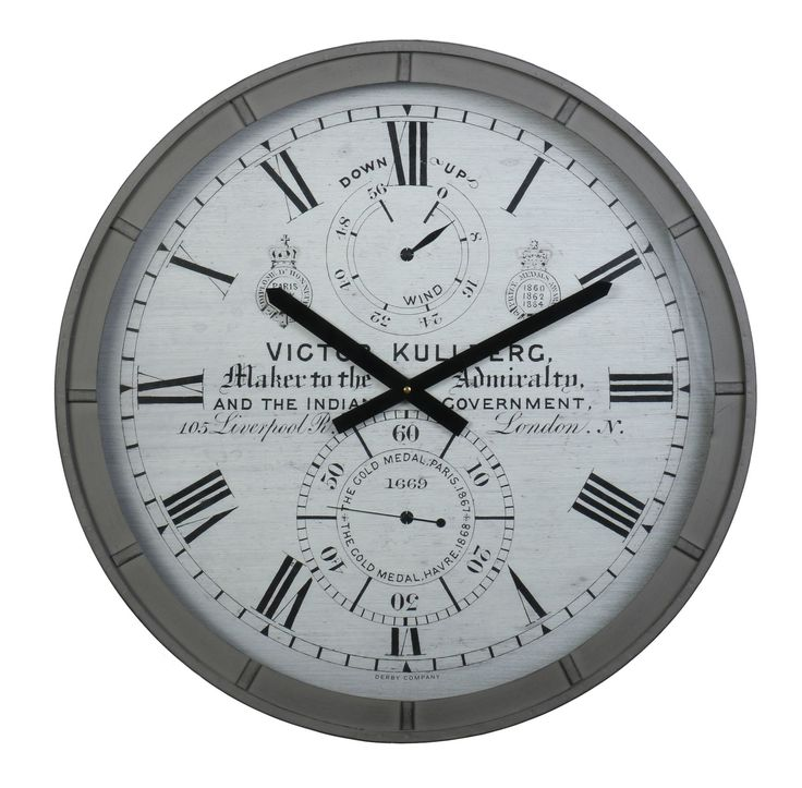 This Vintage Wall Clock Will Blend Well With Many Types Of Home Decor. Http: