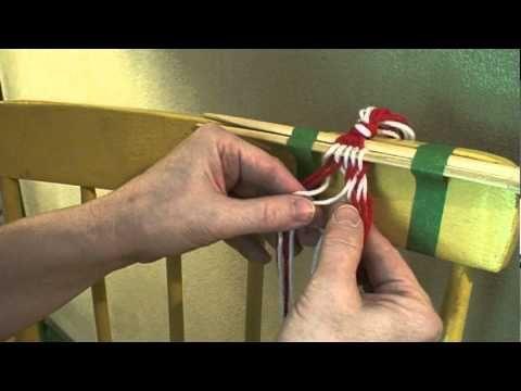 Sprang: Basic Interlinking - YouTube