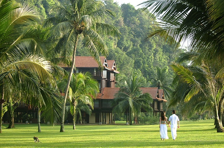 Club Med Cherating Beach - Malaysia.
