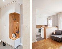 Hol / przedpokój, styl nowoczesny - zdjęcie od Qbik Design
