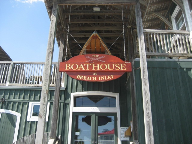 The Boathouse Is A Seafood Restaurant On Isle Of Palms That Offers Marina Access So