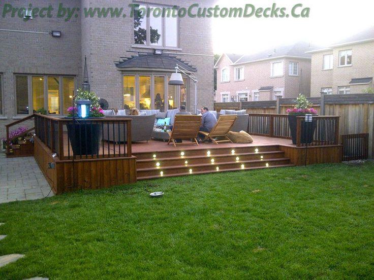 deck design cedar | Eitan Abu - 3/6 - Custom deck design, pergolas, fences, outdoor ...