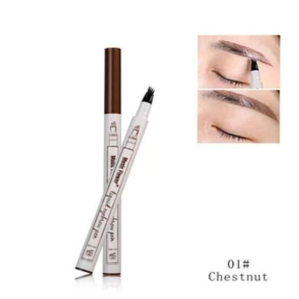 Waterproof Microblading Pen Fine Sketch Eyebrow Pen Maquillaje