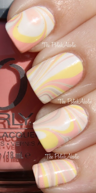 Easter Water Marble: A Kiss, Colors Combos, Color Combos, Nails Watermarbl, Pastel Marble, Nails Polish, Colors Together, Marbles Polish, Marbles Nails