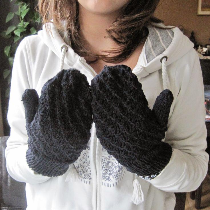 rękawiczki z jednym palcem na drutac