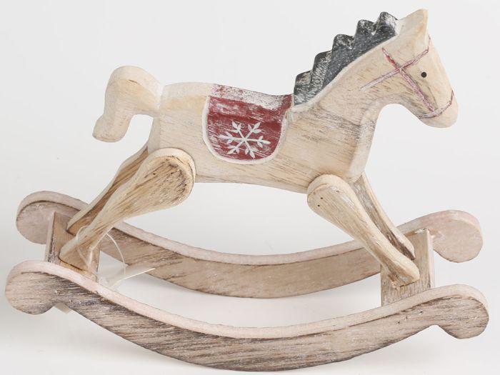 Dřevěný houpací kůň KLA218 | Nábytek ATAN