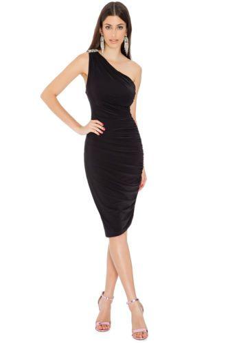 New-Beautiful-Black-Grecian-Goddess-Dress-Style-Gwyneth-Paltrow-Sexy-Womens