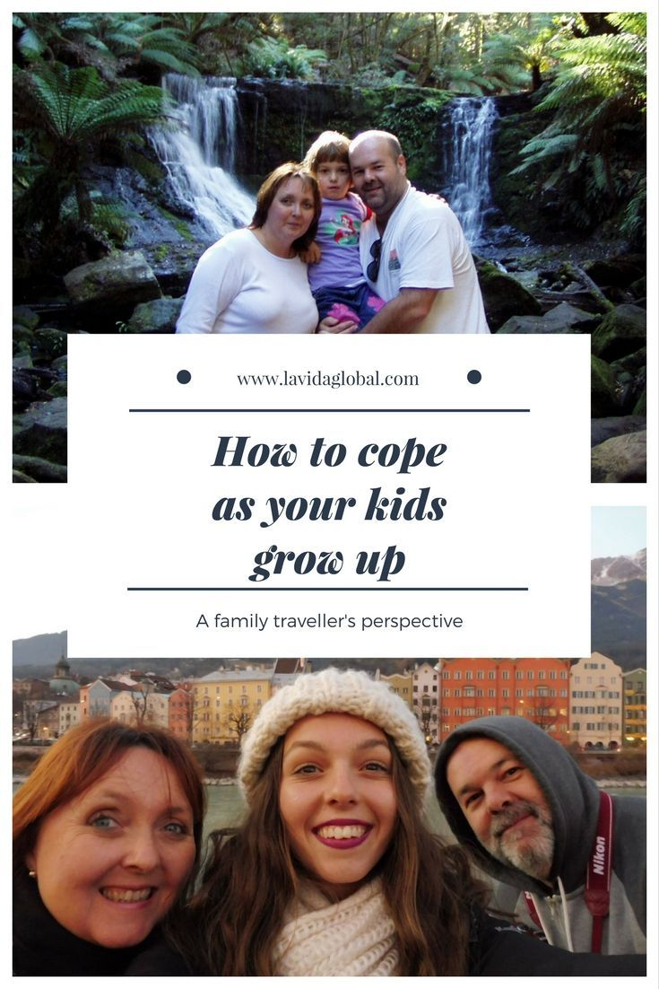 Travel with kids leaves you with amazing memories but how do you cope as they get older and their travel ideas change?