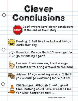 teaching essay conclusions Writing introduction paragraph: learn how to write an introduction paragraph to an essay with these free writing printables and writing games.