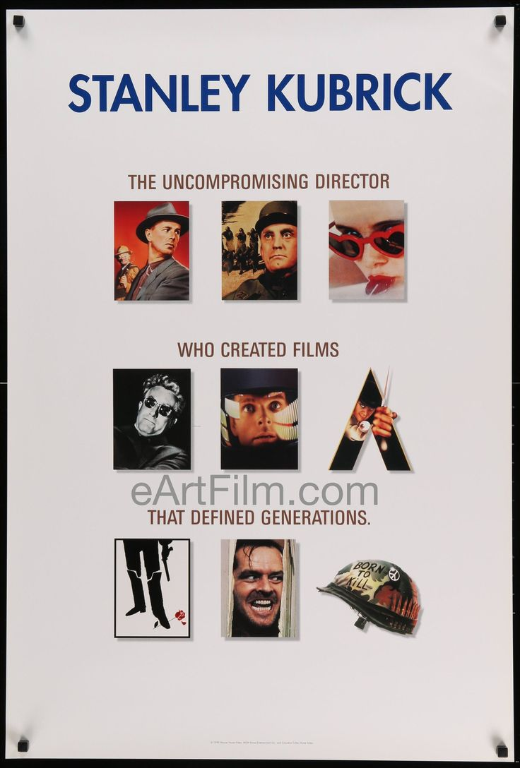 Stanley Kubrick Collection-1999-27x40-Rare Video Poster-9 films!