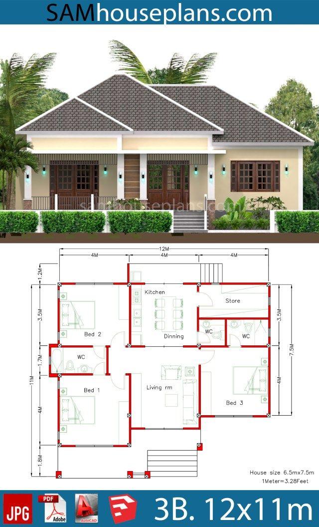 Find Your House Plans Below House Plans 3d Modern Bungalow House Modern Bungalow House Design House Construction Plan
