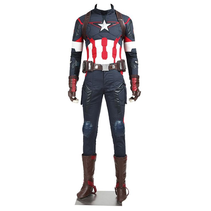 The Avengers Age of Ultron Captain America Cosplay Costume //Price: $400.00 & FREE Shipping //     #batman #deadpool #marvelc #dc