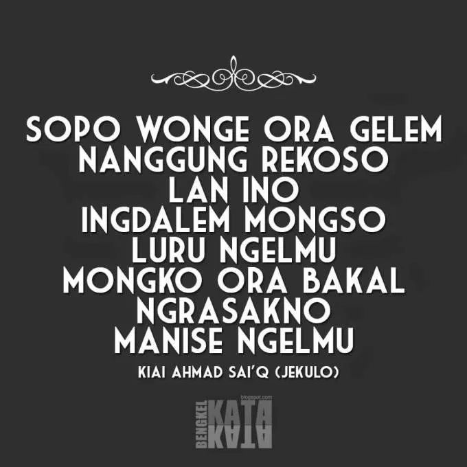 Kata Jatuh Cinta Bahasa Jawa In 2020