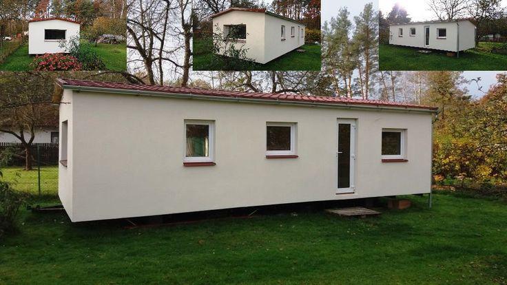 Další námi celoročně zateplený mobilní dům (mobilheim) po natažení finální fasády. Další informace jak zateplujeme mobilní domy naleznete na http://www.mobilnidum.eu/mobilni-domy-celorocni. Mobilní domy, které máme aktuálně v nabídce na http://www.mobilnidum.eu/aktualni-nabidka
