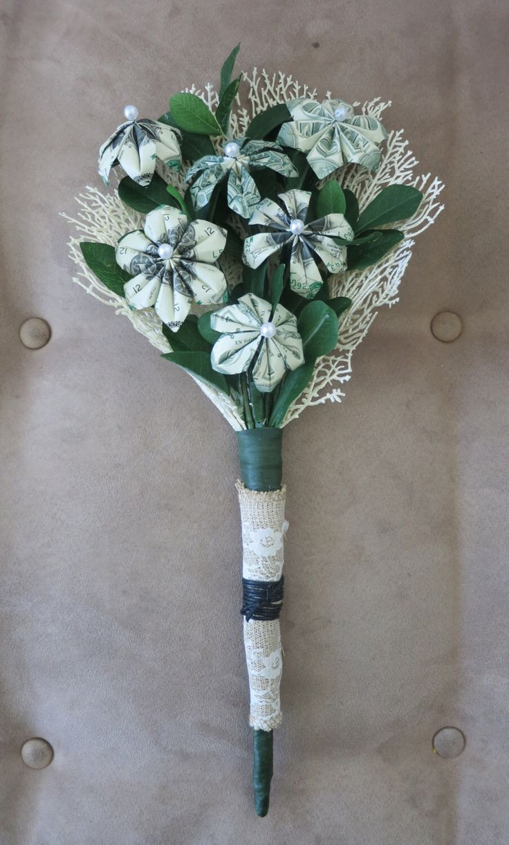 Money Bouquet by bydezign on Etsy