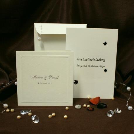 Svatební oznámení L007