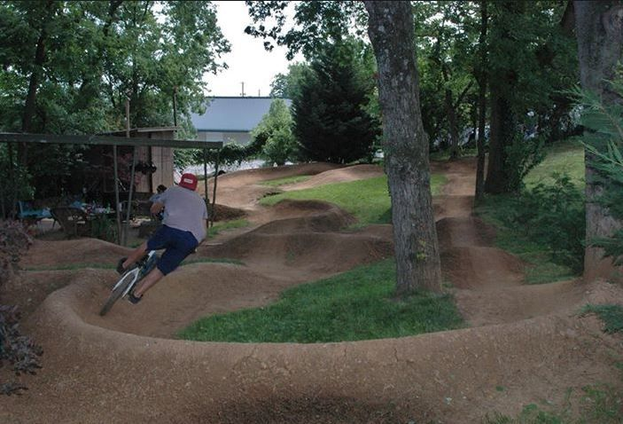 Backyard Wood Pump Track : Backyards Bliss, Backyards Fun, Landscaping Backyards, Backyards Ideas