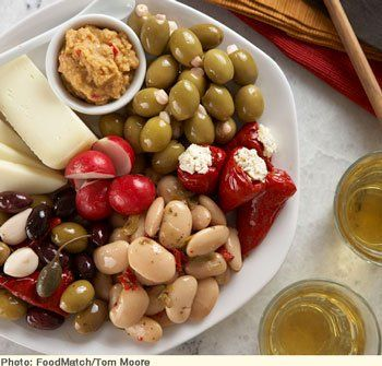 Contemporary Greek Meze | Here's an easy and delicious way to assemble a lovely appetizer or light meal.