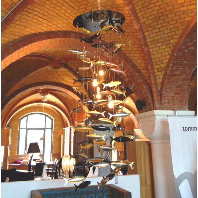 Fish lamp