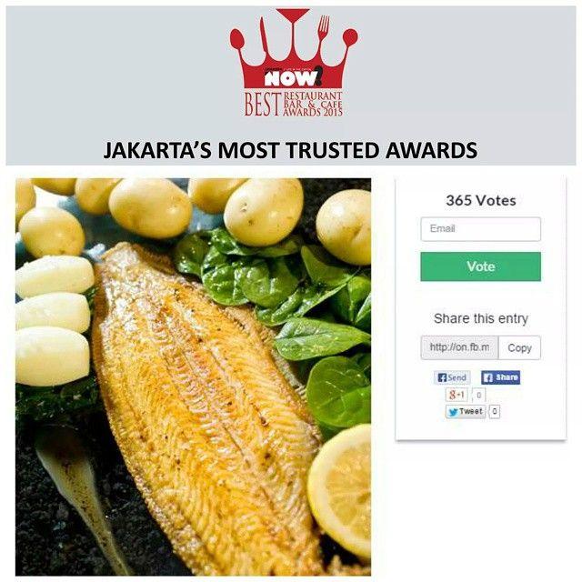 Give your vote for AMUZ Gourmet Restaurant for The Best French Restaurant on #BRBCA2015! #Jakarta #NOWJakarta #LifeinTheCapital #BRBCA #Best #French #Restaurant #Awards #Amuz #AmuzGourmet #AmuzJakarta #AmuzJKT #AmuzGourmetJakarta #AmuzGourmetJKT #AmuzGourmetRestaurant #Event #JKTEvent #Brunch #Lunch #Diner #Dine #Dining #Hangout