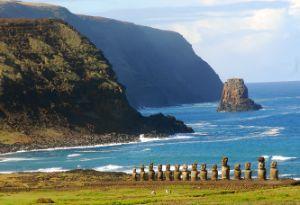 Isla de Pascua, Chile.