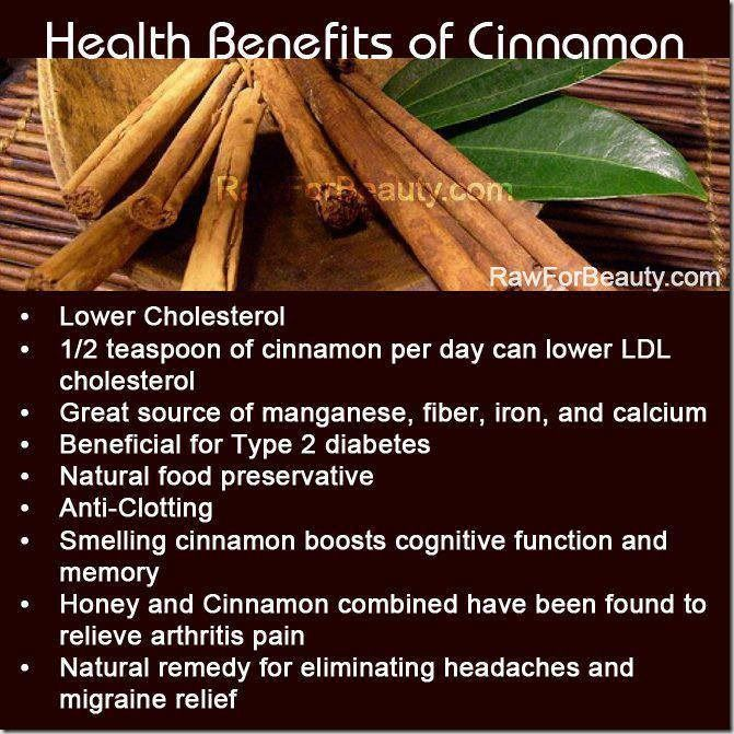 Health Benefits Of Cinnamon : Diabetes And Other Conditions - http://www.healthandbeauty23.com/health-benefits-of-cinnamon-diabetes-and-other-conditions/