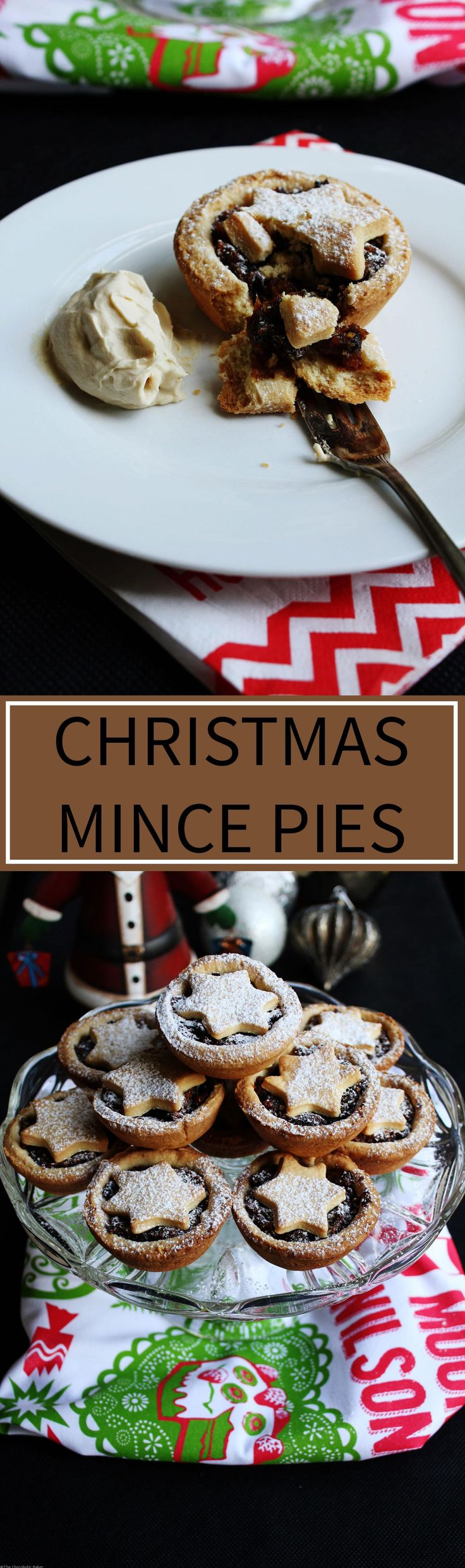 Christmas Mince Pies - Little fruit pies that are the embodiment of Christmas, filled with spiced fruit mince and encased in a sweet shortcrust pastry.