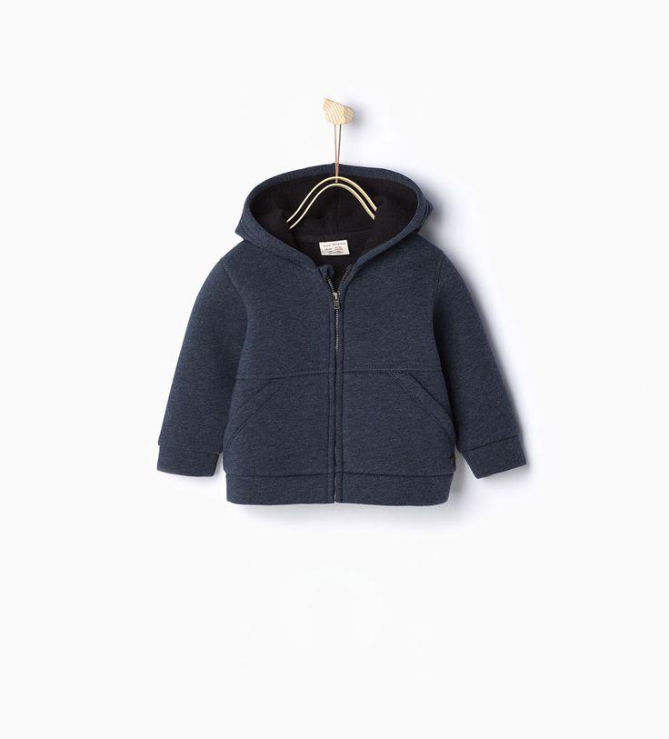 Imagem 1 de Sweatshirt capuz da Zara